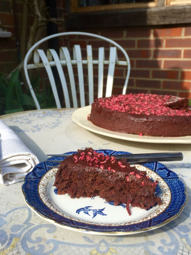 Gluten and dairy free chocolate hazelnut and beetroot cake for Gluten free chocolate beetroot cake