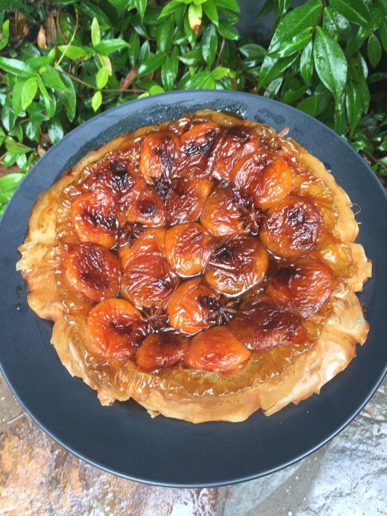 apricot tart and star anise tart tatin recipe apricots caramel